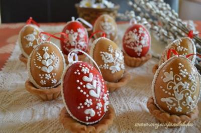 3D Mézeskalács tojás