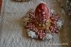 3D hímes tojás asztali dísz