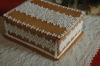 Csipkés mézeskalács doboz (téglatest)